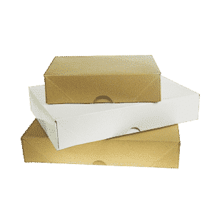 White A4 White Ream Boxes - 305x216x57mm