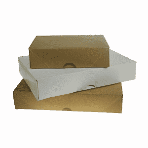 White A5 White Ream boxes - 216x157x57mm