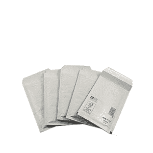 White Standard Bubble Lined Mailers - 295x445mm