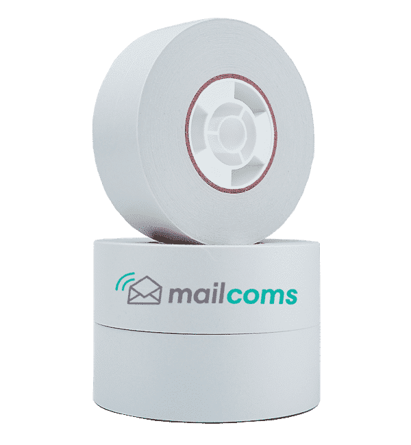 Pitney Bowes Connect+ 500W / 1000 / 2000 / 3000 Self Adhesive Label Rolls