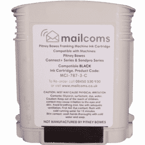Mailcoms Connect+ 500W / 1000 / 2000 Compatible Black Standard Ink Cartridge