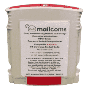 Mailcoms Connect+ 1000 / 2000 Compatible Magenta Standard Ink Cartridge