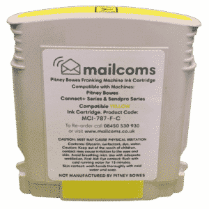 Mailcoms Connect+ 1000 / 2000 Compatible Yellow Standard Ink Cartridge
