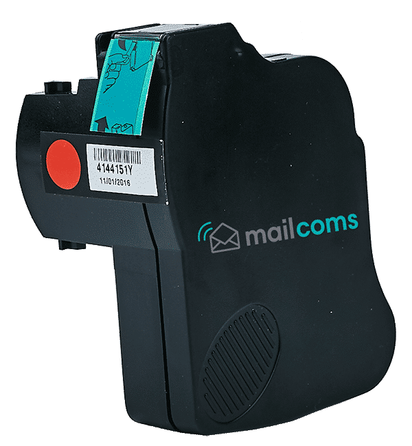 Mailcoms Mailstart Red Ink Cartridge