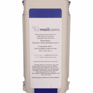 Mailcoms Send Pro P1000 / P1500 / P2000 Compatible Blue High Capacity Ink Cartridge