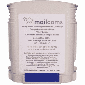 Mailcoms Send Pro P1000 / P1500 / P2000 Compatible Blue Standard Ink Cartridge