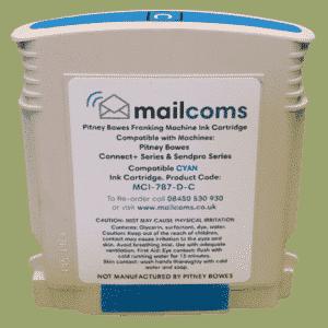 Mailcoms Send Pro P1000 / P2000 Compatible Cyan Standard Ink Cartridge