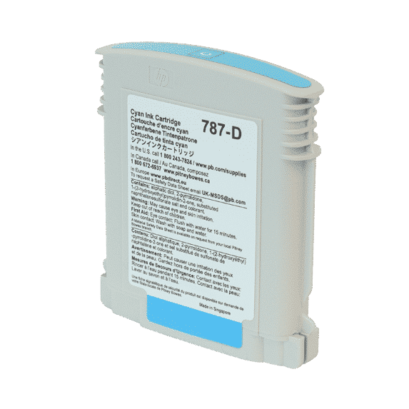 Pitney Bowes Connect+ 1000 / 2000 / 3000 Original Cyan Standard Ink Cartridge