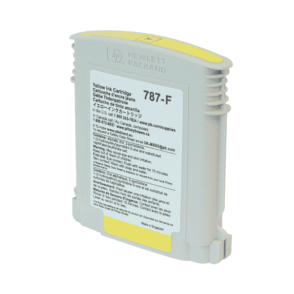 Pitney Bowes Connect+ 1000 / 2000 / 3000 Original Yellow Standard Ink Cartridge