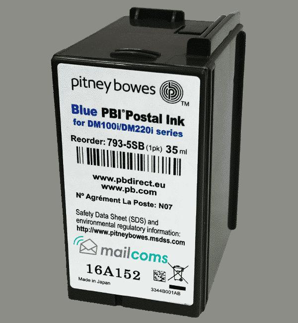 Pitney Bowes DM100 / SendPro Series Ink Cartridge – Original Blue