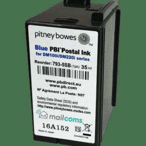 Pitney Bowes DM110i Ink Cartridge – Original Blue