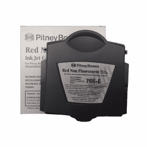 Pitney Bowes DM200 / DM225 / DM250 / DM300 Original Red Ink Cartridge