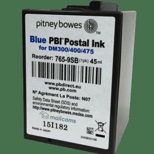 Pitney Bowes DM300M Ink Cartridge & DM400M Ink Cartridge – Original Blue