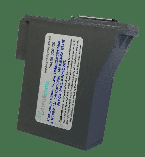 Pitney Bowes DM50 Ink Cartridge & DM55 Ink Cartridge – Compatible Blue