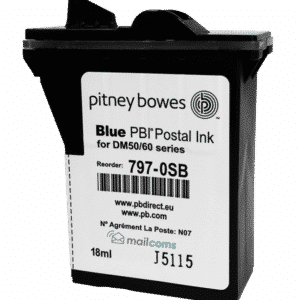 Pitney Bowes DM50 Ink Cartridge & DM55 Ink Cartridge – Original Blue