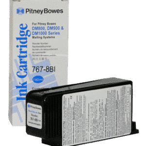 Pitney Bowes DM800 / DM900 / DM1000 Original Blue Ink Cartridge