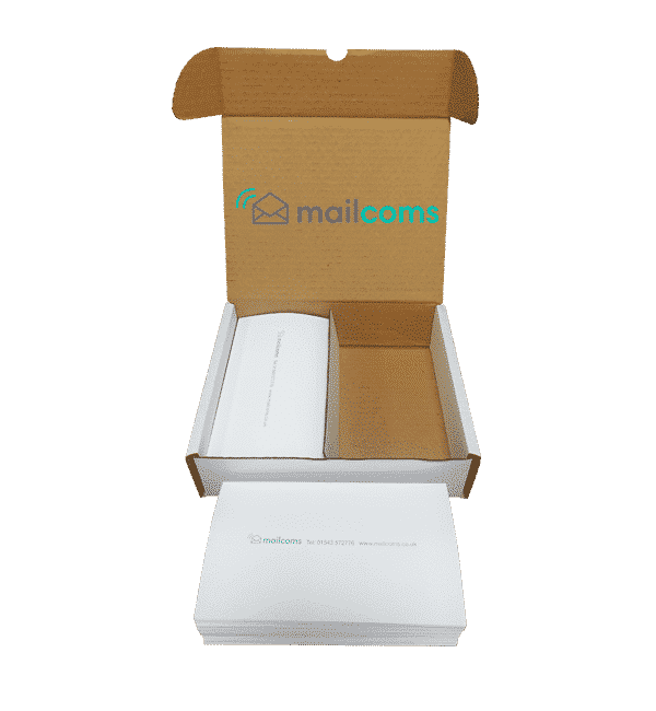 1000 Mailcoms Mailhub Long (175mm) Franking Labels