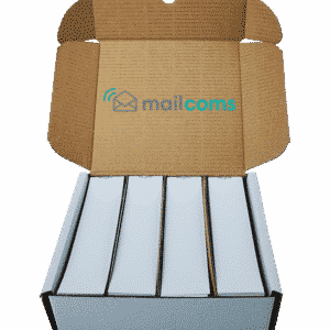 1000 Mailcoms Mailhub Speed Franking Labels - Long Single