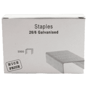 26mmx6mm Metal Staples (Pack of 5000)