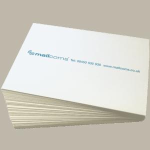 500 Secap DP125 Double Sheet Franking Labels