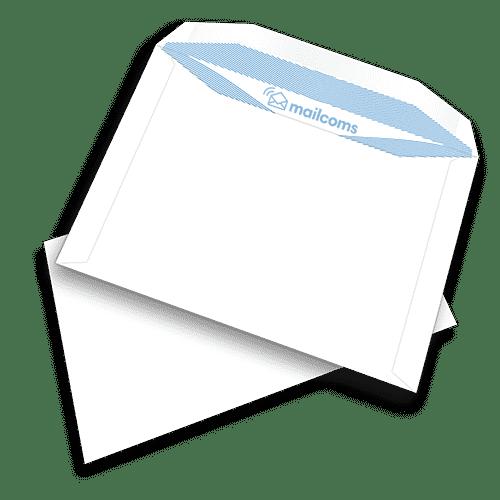500 White C5+ Gummed Plain (Non Window) Neopost / Quadient Folding Inserting Machine Envelopes (162mm x 235mm)