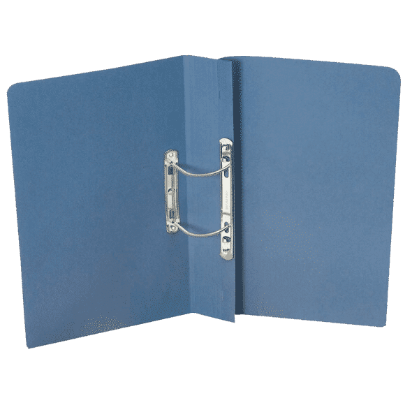 Guildhall Heavyweight Transfer Spiral File 420gsm Foolscap Blue (Pack of 25)