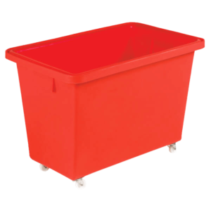 Mobile Nesting Container 150L Red