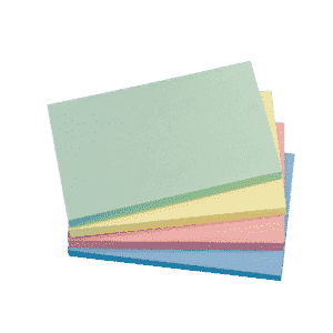 Q-Connect Quick Notes 76 x 127mm Pastel (Pack of 12)