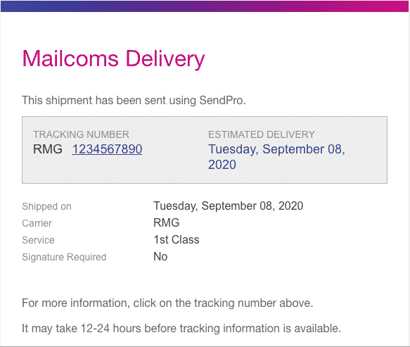 Customer Email Tracking & Delivery Confirmation