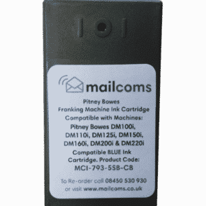 Secap DP100 Ink Cartridge – Compatible Blue