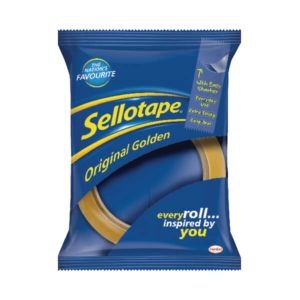 Sellotape Original Golden Tape 24mm x 66m (Pack of 6)