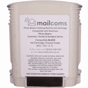 The Mailing Room TMR c1000 / c2000 / c3000 Compatible Black Standard Ink Cartridge