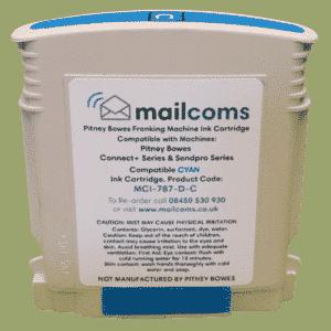 The Mailing Room TMR c1000 / c2000 / c3000 Compatible Cyan Standard Ink Cartridge