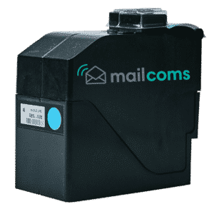 Mailcoms Mailhub Speed Blue Ink Cartridge