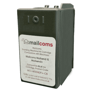 Mailcoms Mailsend Blue Ink Cartridge