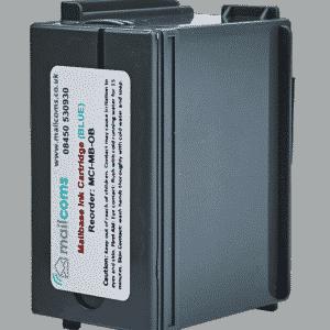 Mailcoms Mailsend Pro Blue Ink Cartridge