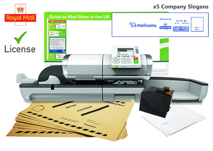 What's Included With The Mailhub+ Franking Machine