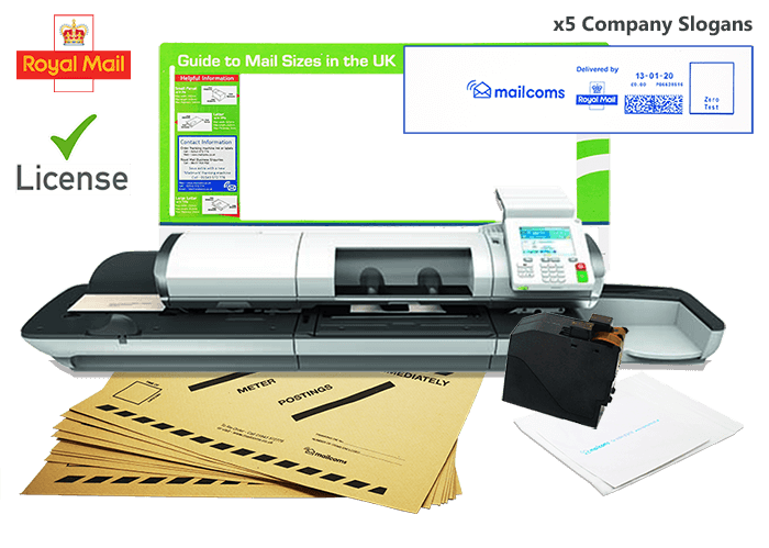 What's Included With The Mailhub Speed Franking Machine