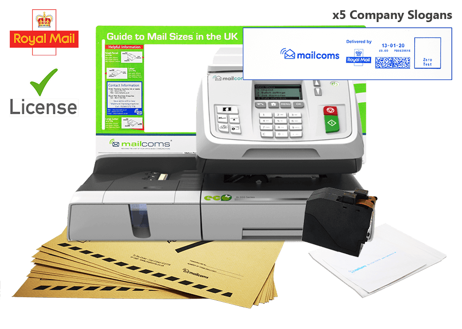 What's Included With The Mailhub Franking Machine