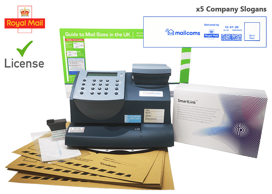 What's Included With The Mailstart+ Franking Machine