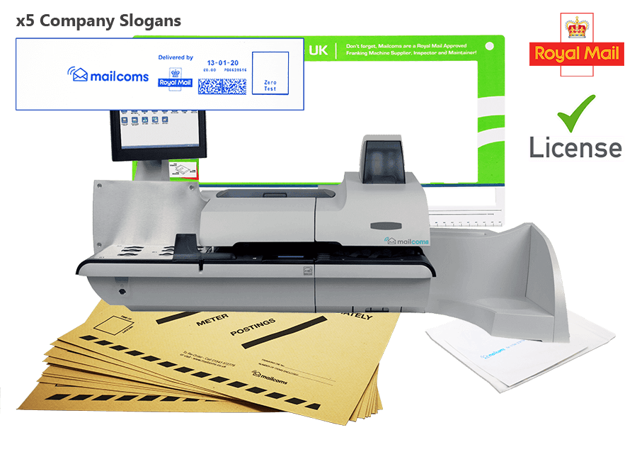 What's Included With The SendPro P1000 Franking Machine