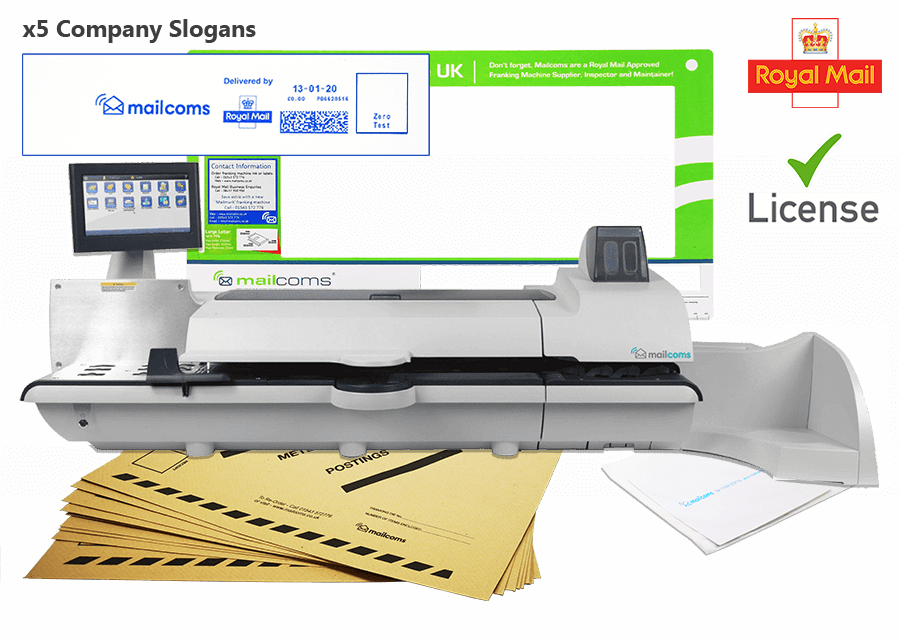 What's Included With The SendPro P2000 Franking Machine