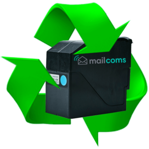 Mailcoms Mailhub+ Mailmark Blue Ink Refill & Reset Service