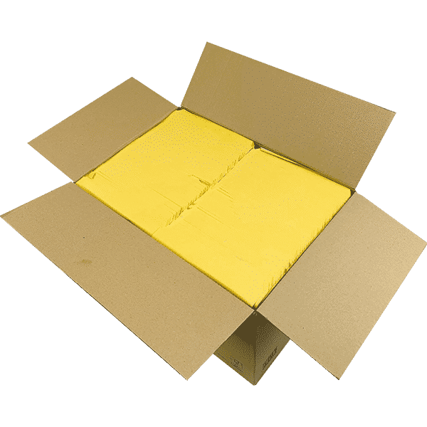 Gold Arofol Envelopes - Size 6 - 220x340mm - Pack Of 100