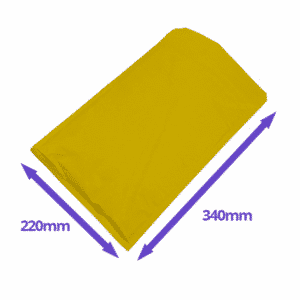 Gold Arofol Envelopes - Size 6 - 220x340mm - Pack Of 100