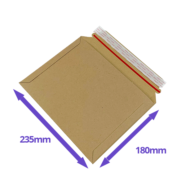 Capacity Book Mailers - 180x235mm