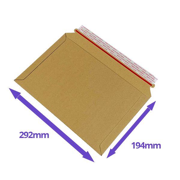 Capacity Book Mailers - 194x292mm