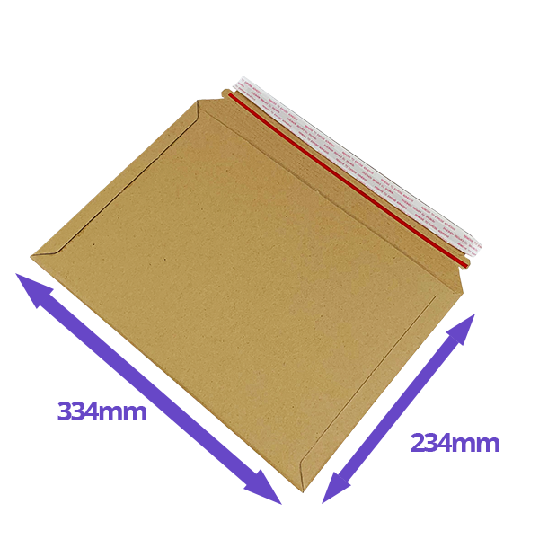Capacity Book Mailers - 234x334mm