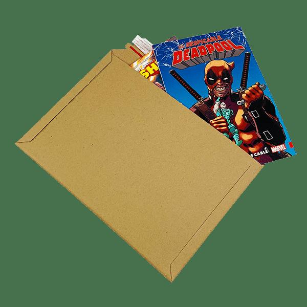 Capacity Book Mailers - Premium Corrugated - 234x334mm