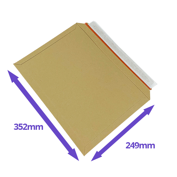 Capacity Book Mailers - 249x352mm